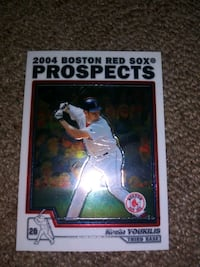 Kevin youkilis toops chrome traded