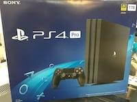 Ps4 pro brand new with 5games 142 mi
