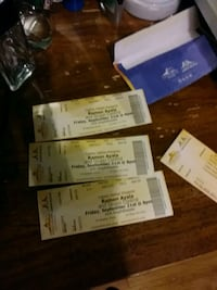 three concert tickets (Ramon Ayala) Tucson, 85714