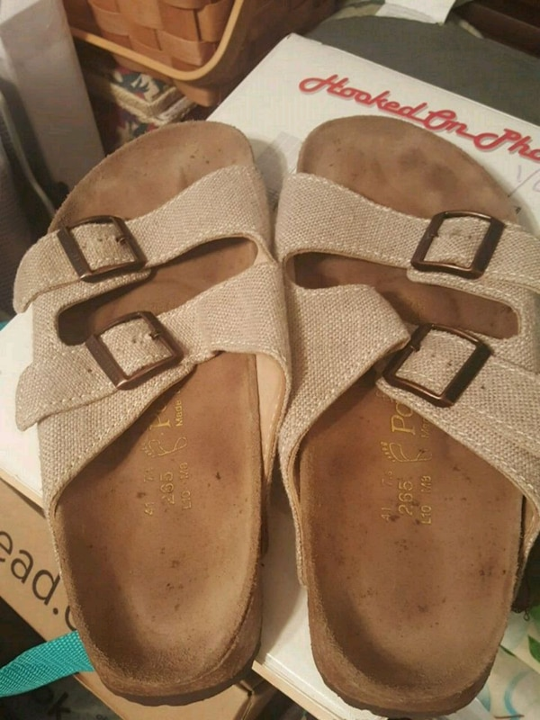 new products 43281 23da7 BEIGE BIRKENSTOCK SANDALS-L10,M8,265, -41
