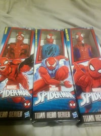 12 inch spiderman figures and tin lunchbox Chicago, 60613
