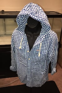 New Hollister Button Up Hoodie South Bend, 46617
