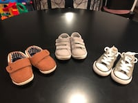 Size 4 Toddler shoe lot-Converse, Carter's & And1 Long Neck, 19966