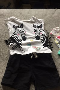 3- Shirt and short sets 1 with leggings  New York, 10460