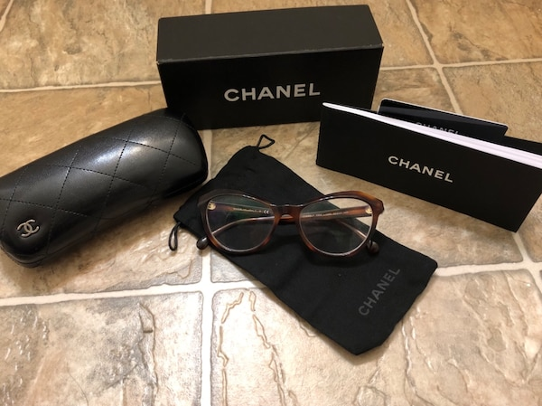 Chanel Tortoise Glasses