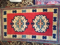 Small handmade Turkish wool rug 2.3x4 ft Toronto, M2R 3N1