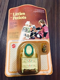 Vintage New die-cast metal Dollhouse Furniture , Mattel Little Petiots Richmond, V6Y 3A6