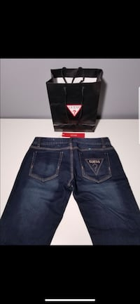 Brand New Guess Dark Blue Jeans