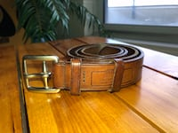 "Coach Men's Leather Belt 32"" Markham, L3R 5M5"