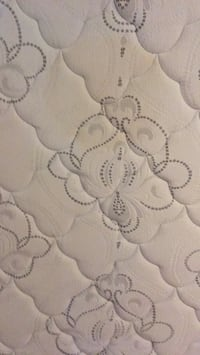White and gray floral textile Monticello, 12701
