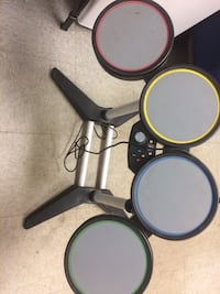 Xbox 360 drums guitars and wheel with pedals Houston, 77037