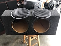 """DUAL 10"""" SUBWOOFER box Normal, 61761"""