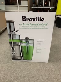 Brand new Breville juice Fountain Cold Centrifugal Juicer Toronto, M1R 2Z2