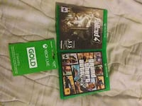 Grand theft auto 5, fallout 4, and 3 month xbox li Elmhurst, 60126