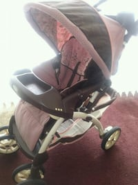 baby's brown and pink stroller Jacksonville