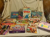 Big lot of Childrens games. Great for daycare Silver Spring, 20902