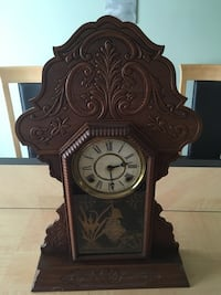 Gingerbread clock Palm Coast
