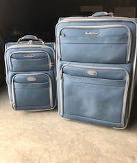 Luggage!!! Large and small suitcase (used)  Ballwin, 63021