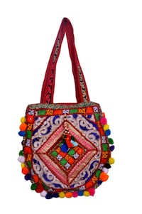 blue, yellow, and red floral crossbody bag New Delhi, 110055