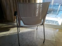black and gray metal folding chair Los Angeles, 91605