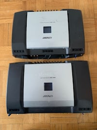 2 Alpine amplyfiers (one mono & one 4 channel)