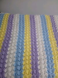 Knitted baby blanket  Gatineau, J8P 8C3