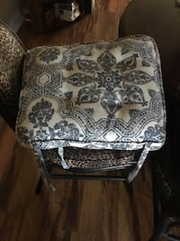 Patio chair cushion paisley