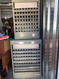 Two modine gas heaters not too old work great just taken out of a greenhouse recently sold  East Brookfield, 01515