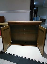 brown wooden roll-top desk Toronto, M1S 1J9