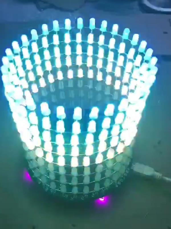LED colorful light ring