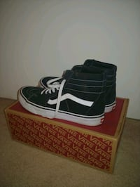 Vans old school high black North Saanich, V8L 5R8