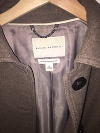 Black Banana republic button-up jacket 37 km