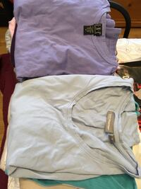 23 used women's size M and L various long sleeve T-shirts. Laurel, 20723