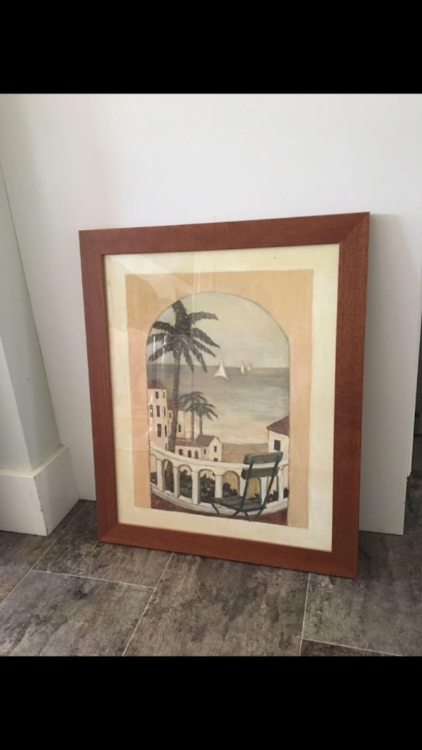 Framed Painting Picture