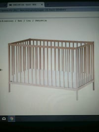 crib and matress Maple Ridge, V2X 1X8