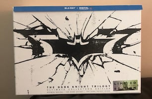 The Dark Knight Trilogy Ultimate Collectors Edition Blu-ray