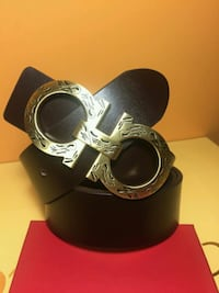 Gorgeous Black Belt with  Golden Buckle in Box  Mississauga, L5R 3A9