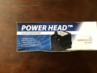 "14 - power head ""120 6PH fountain pump"" for underwater use only Arden, 10975"