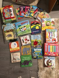 Baby board books LOT London, N5V 5J4