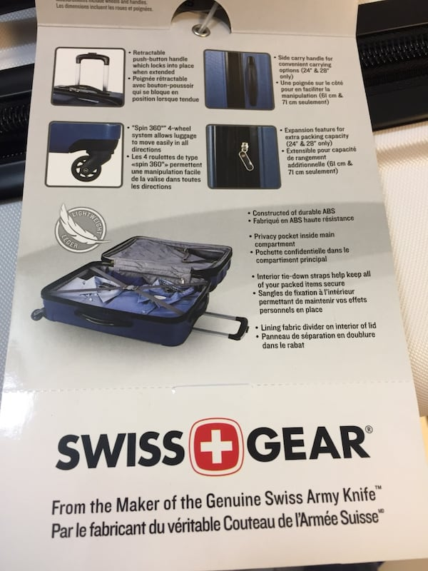 New Set of Swiss Gear Suitcases / Luggage c8437766-9772-4881-93b3-192eaa1ee160