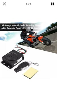 Motorcycle/scooter alarm