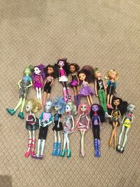 Monster high collection  Vaughan, L4K