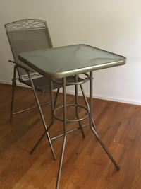 PATIO TABLE & CHAIR -BAR STOOL HEIGHT table Silver Spring, 20903