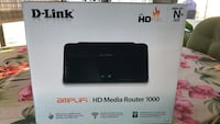 Black d-link hd media router 1000 box Kissimmee, 34759