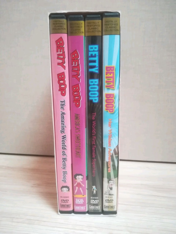 NUEVO The Best of Betty Boop Pack 4 DVDs 05cd0bf9-90ed-474a-bd89-0c998884896d