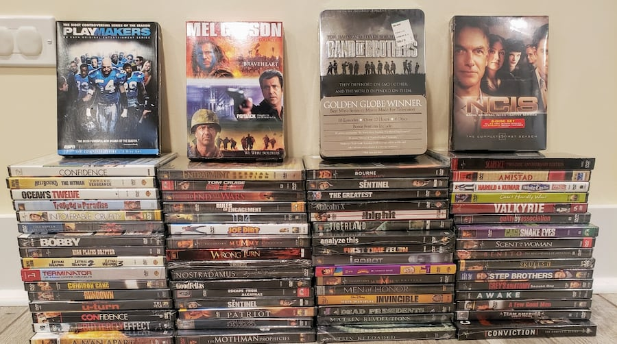 NEW Factory sealed DVDs!  958039f0-e881-4485-83c9-2807b0463596