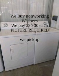 Washers and dryers Las Vegas, 89108