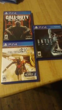 Three games for ps4 good condition no scratches 10 Clovis, 88101