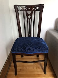 Refurbished dining chair Westmount, H3Z 1H5
