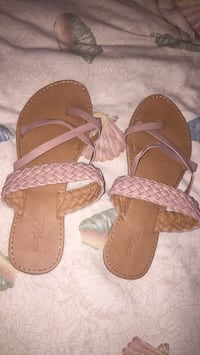 pair of brown leather sandals Youngstown, 32466